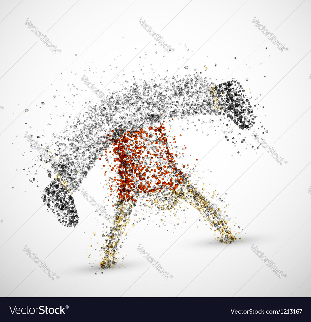 Abstract male vector