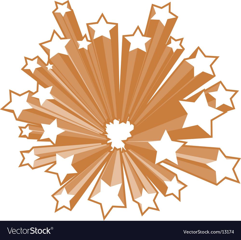 Star burst vector
