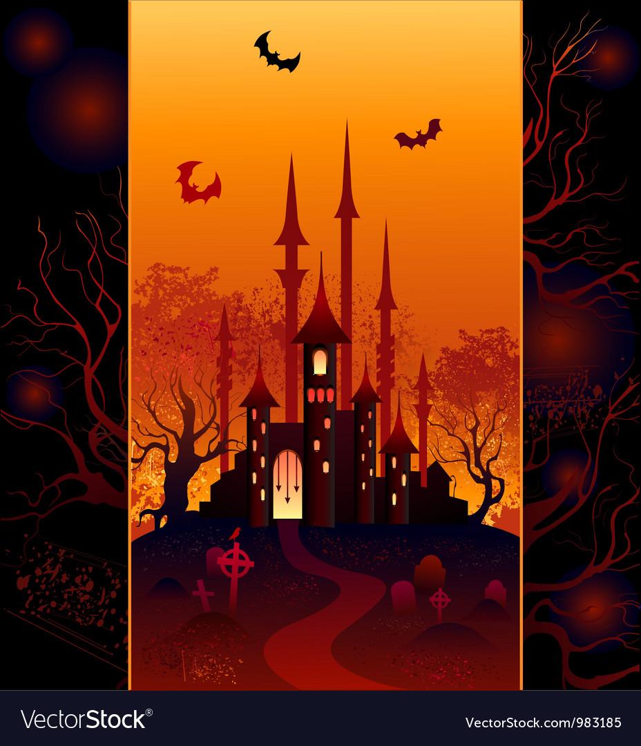 Design for halloween vector