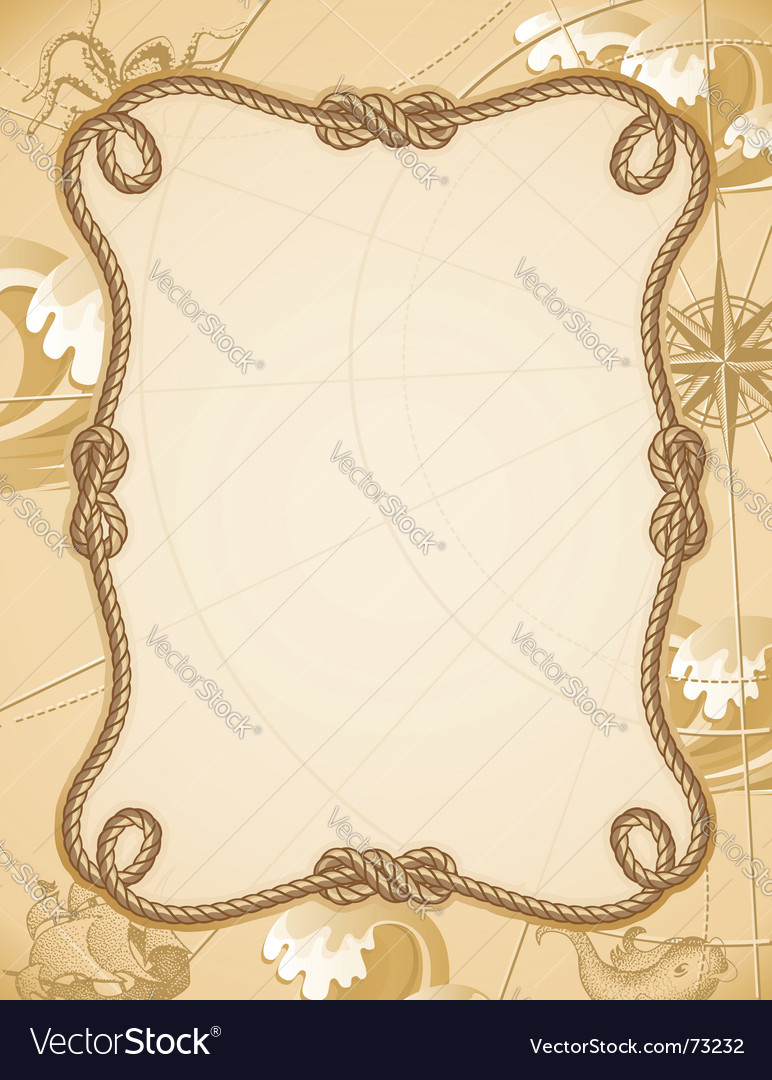 Knot frame vector