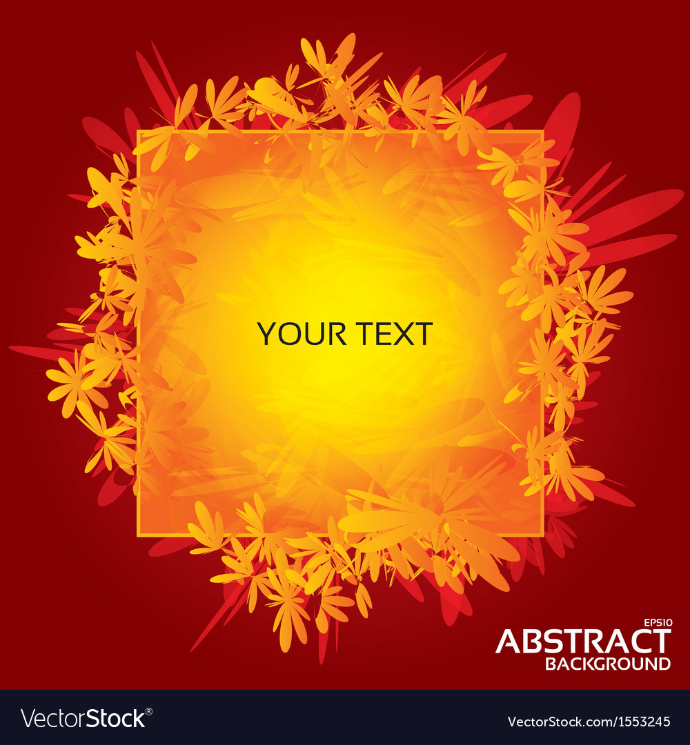 Abstract greeting card for design eps10 vector