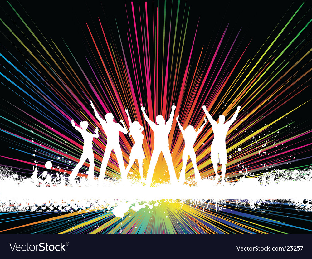 Party time design vector