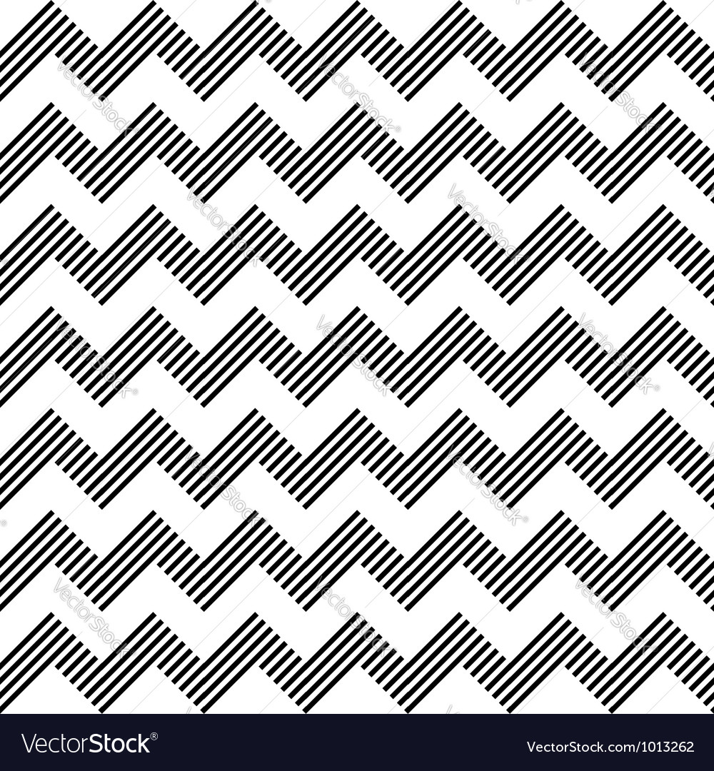 Seamless zigzag pattern vector