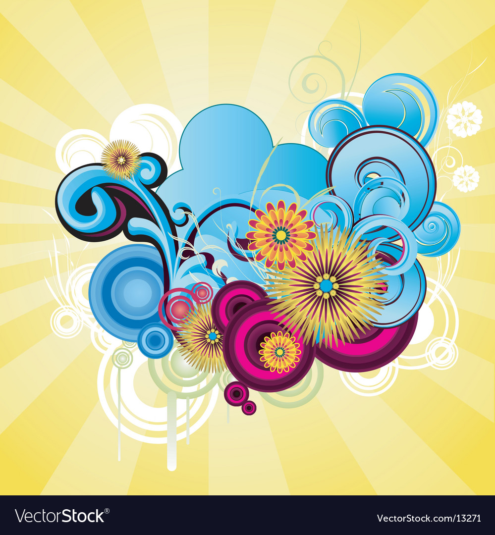 Graphic background vector