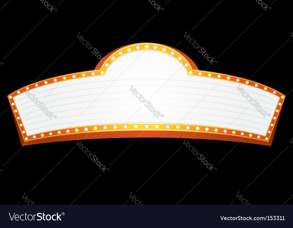 Entertainment sign vector