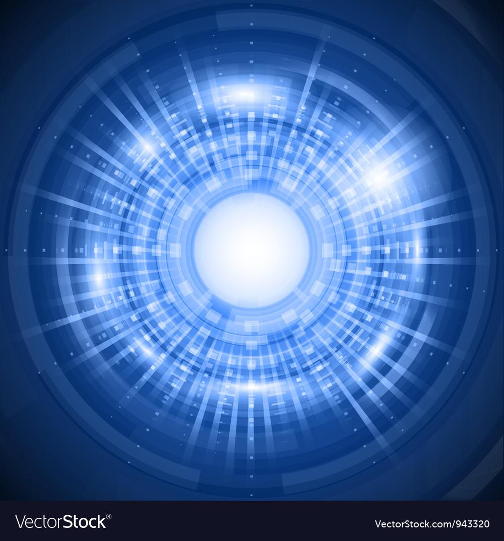Abstract circular background 2603 vector