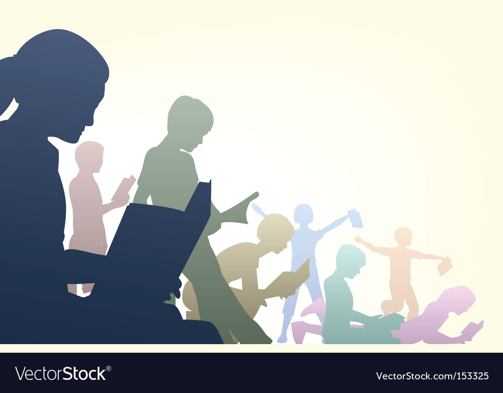 Book club vector