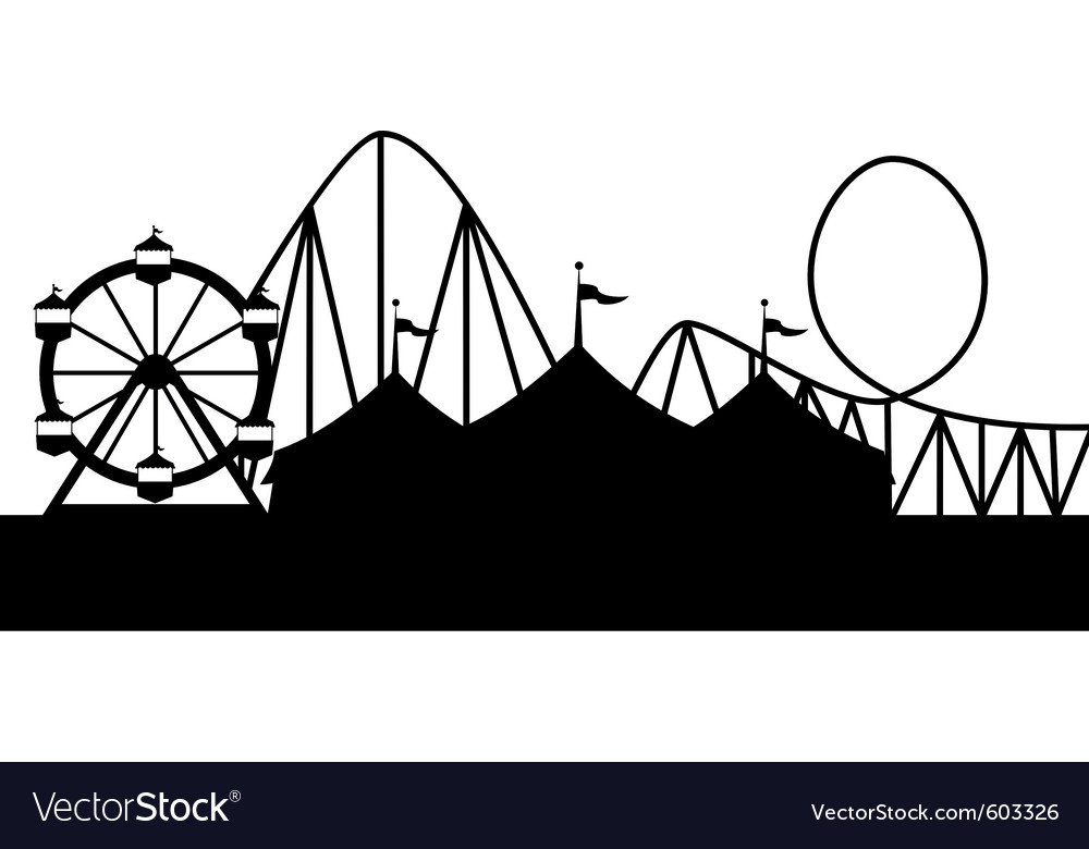 Carnival scene vector art - Download Carnival vectors - 603326