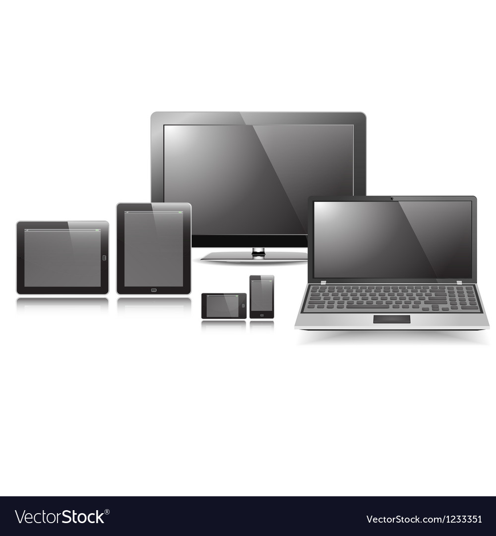 Responsive display set vector