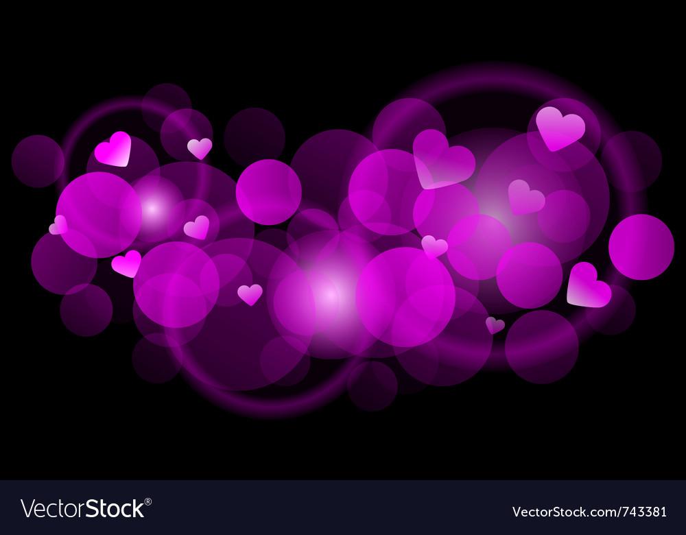 Pink blur vector
