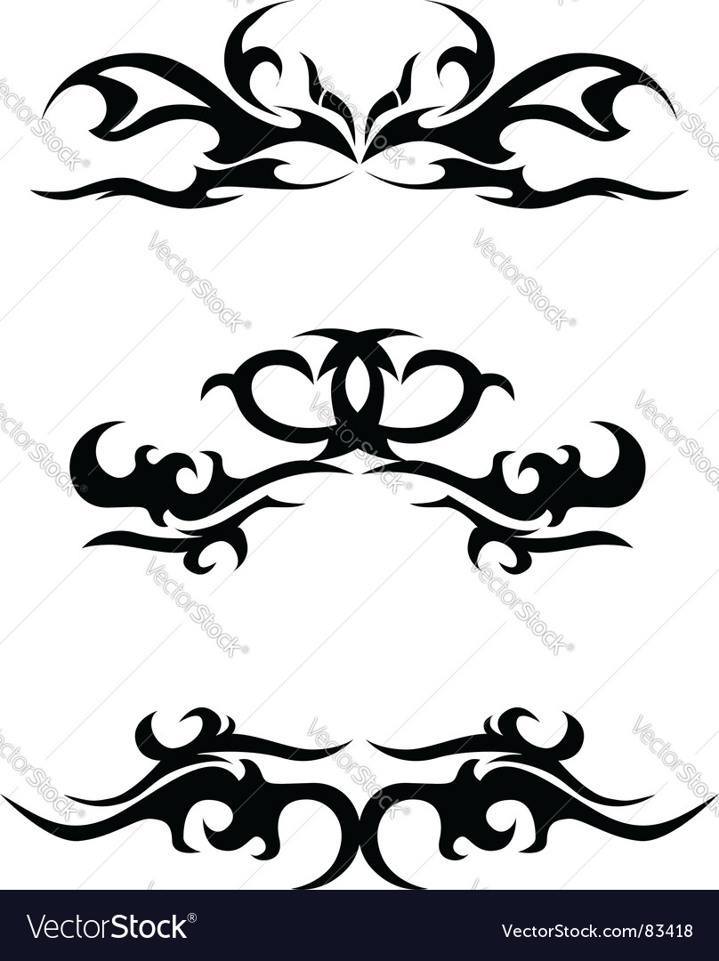 download tattoo tribal vector tattoo Download vectors  art vector elements Painting    83418 Tribal