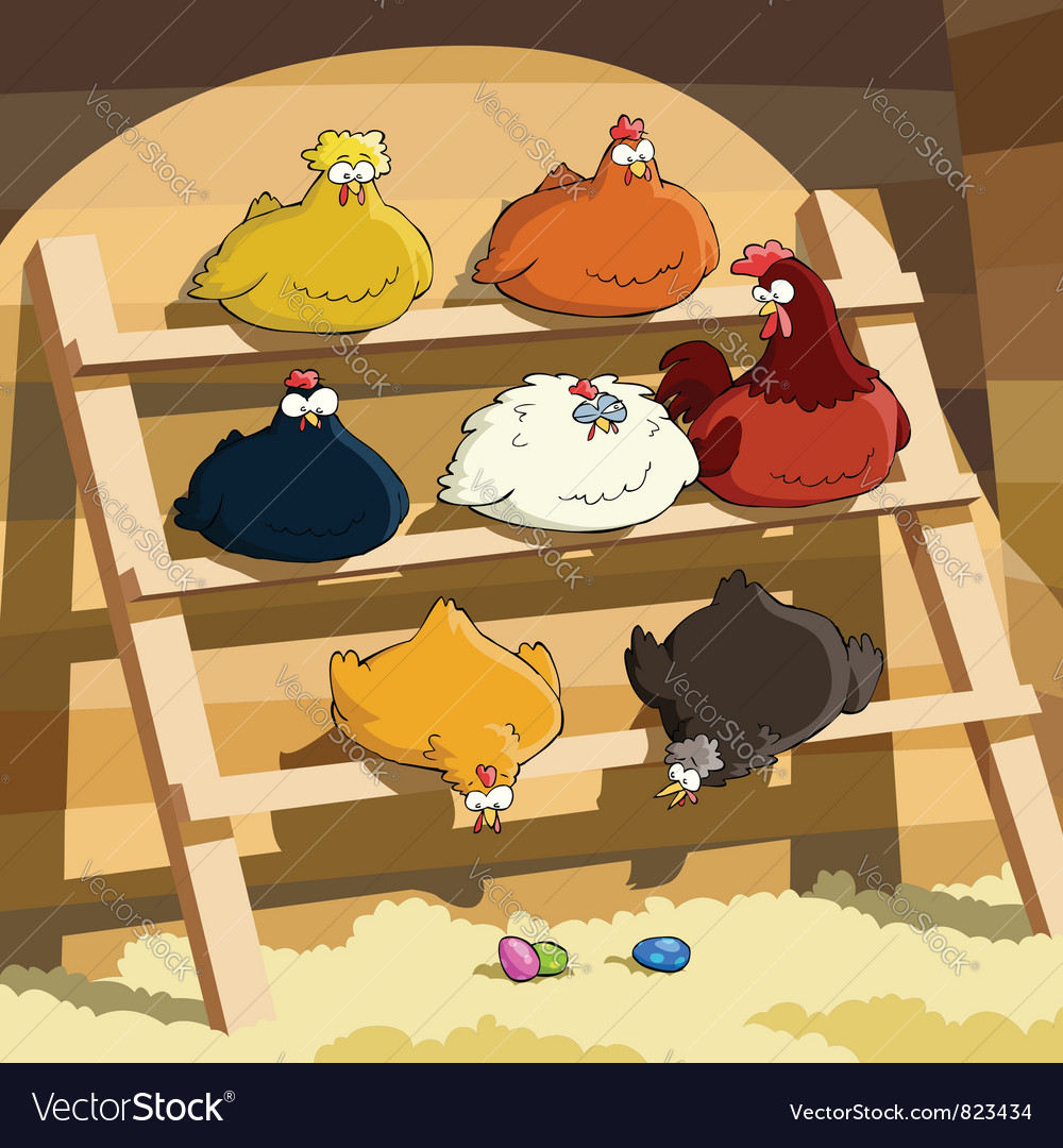 Henhouse vector