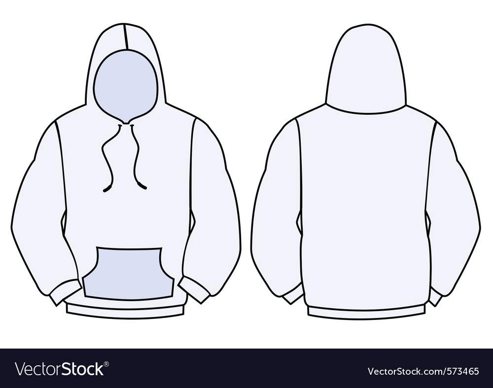 hoodie template design vector by bytedust image 573465