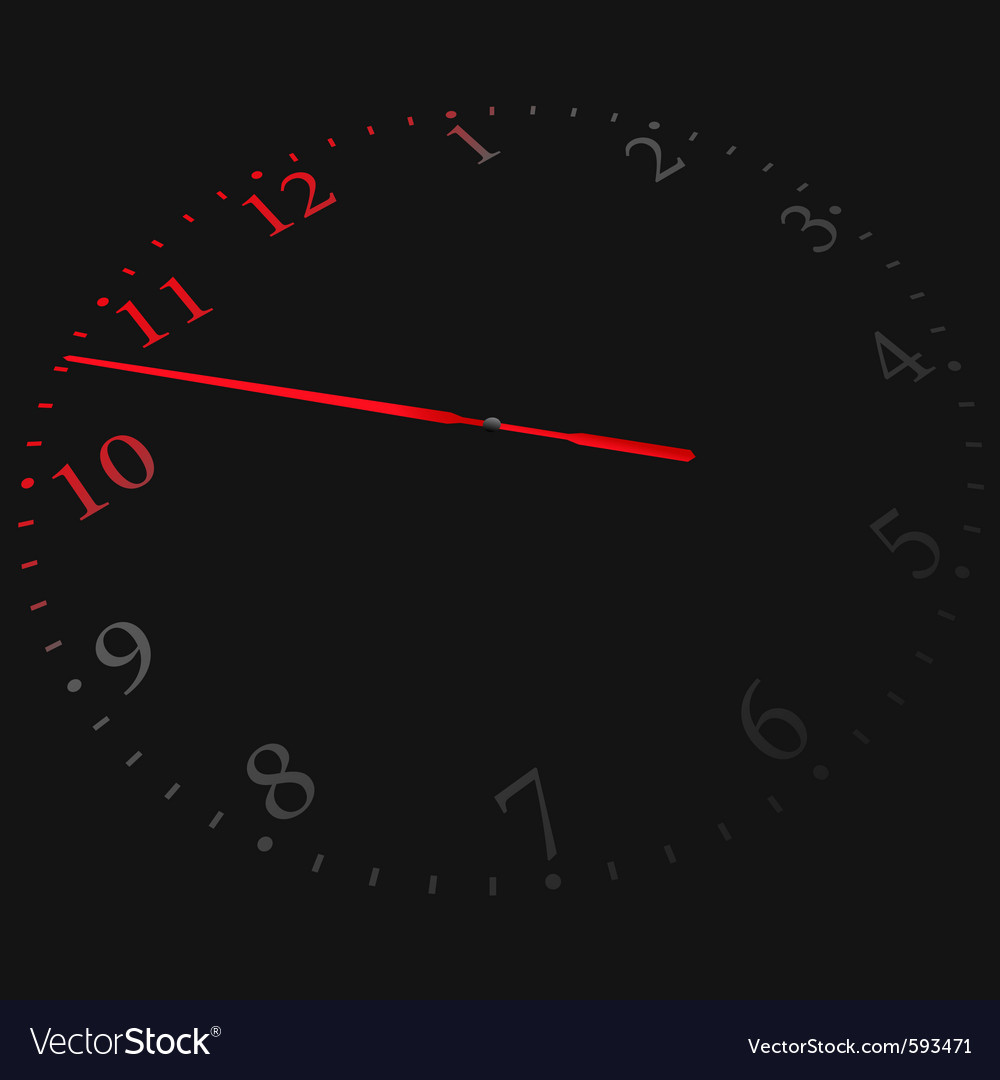 Free clock vector