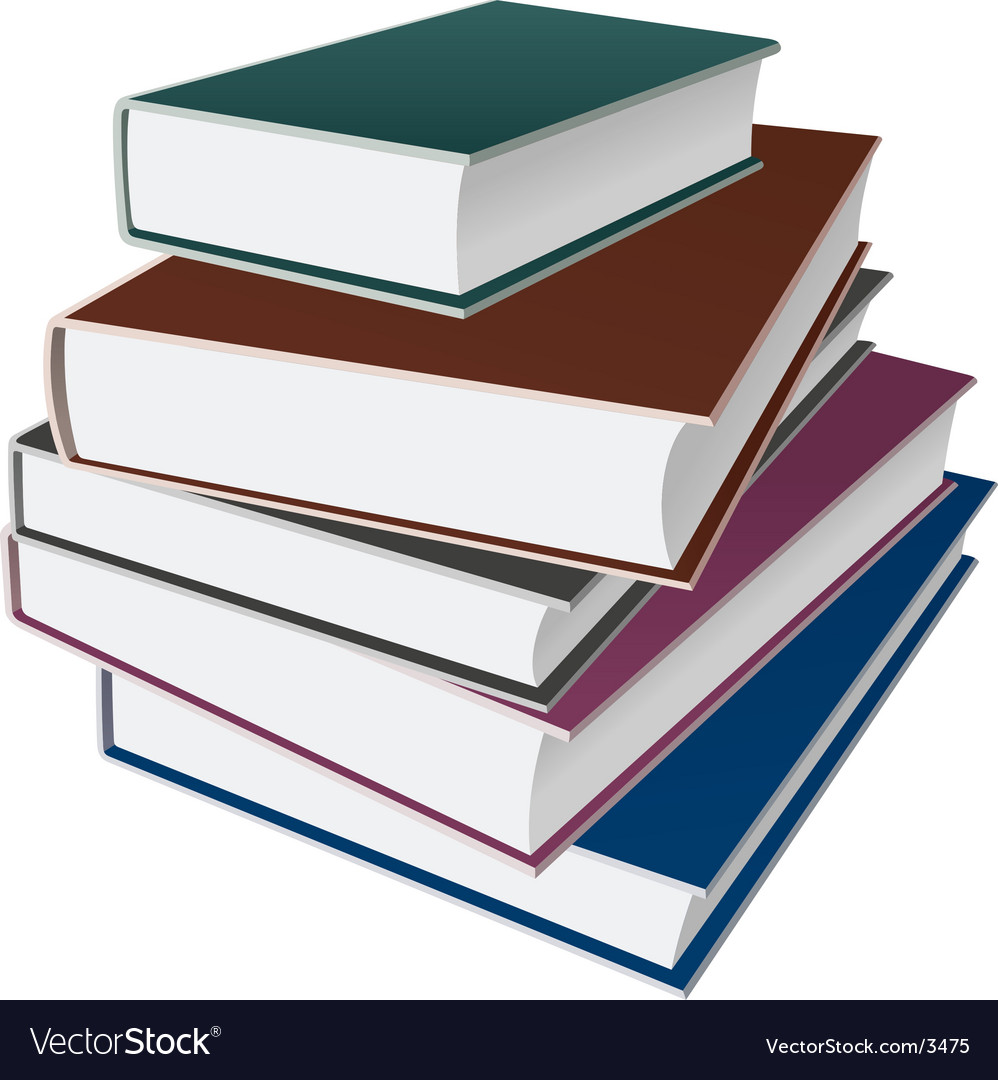 Books notebooks vector