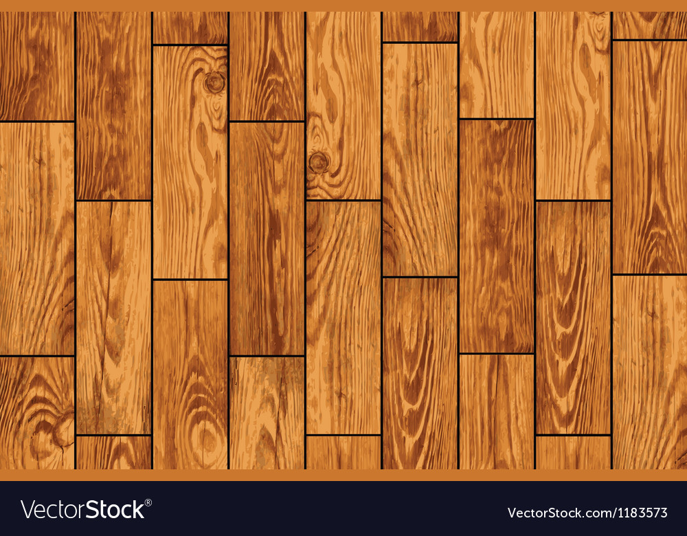 Wooden floor texture vector