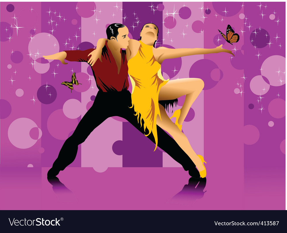 Dance hall vector