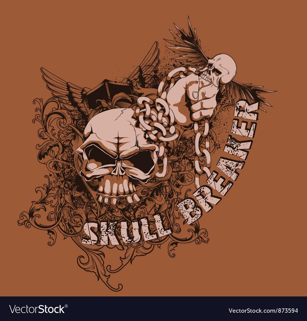 Vintage t-shirt design vector