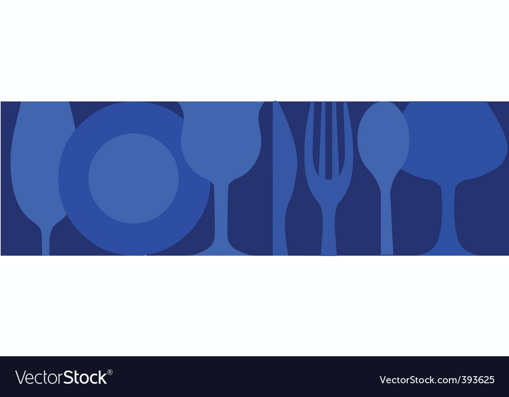 Dinning background vector