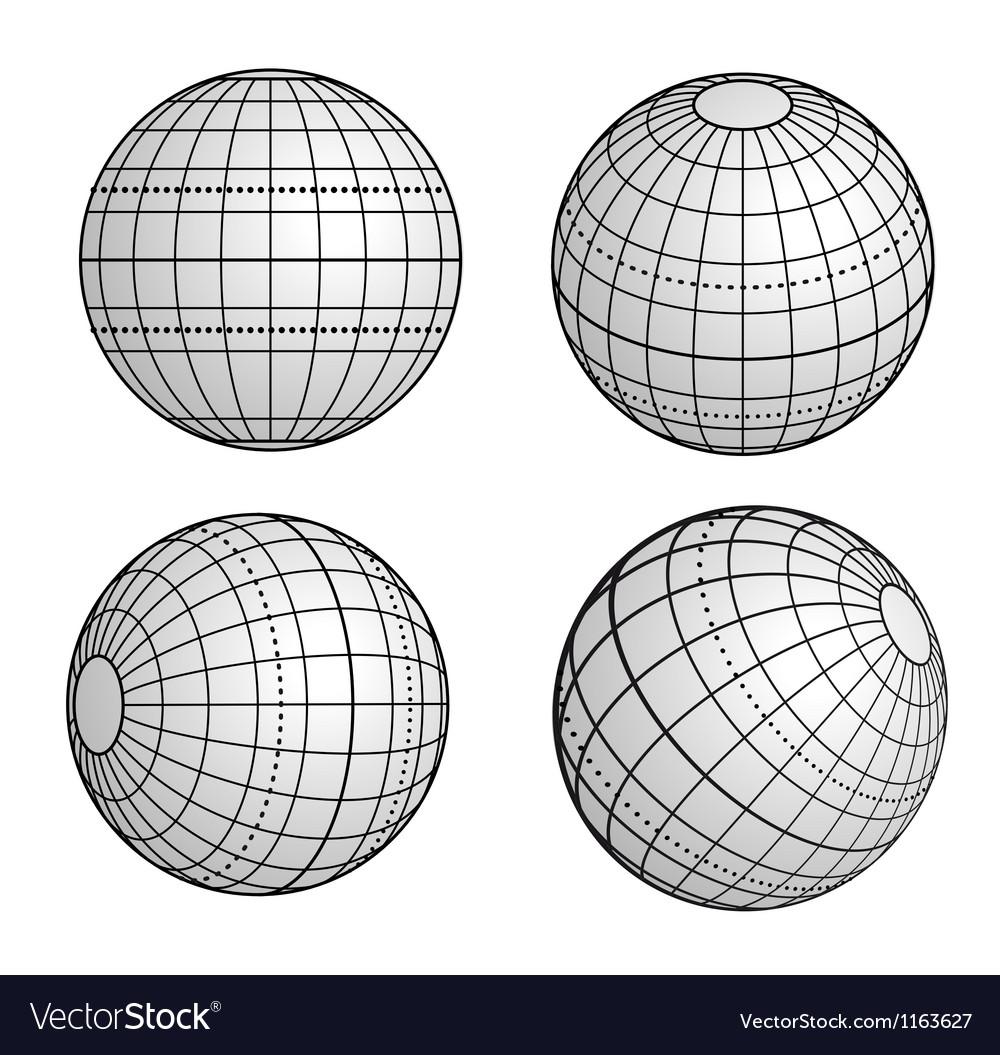 Original globe vector