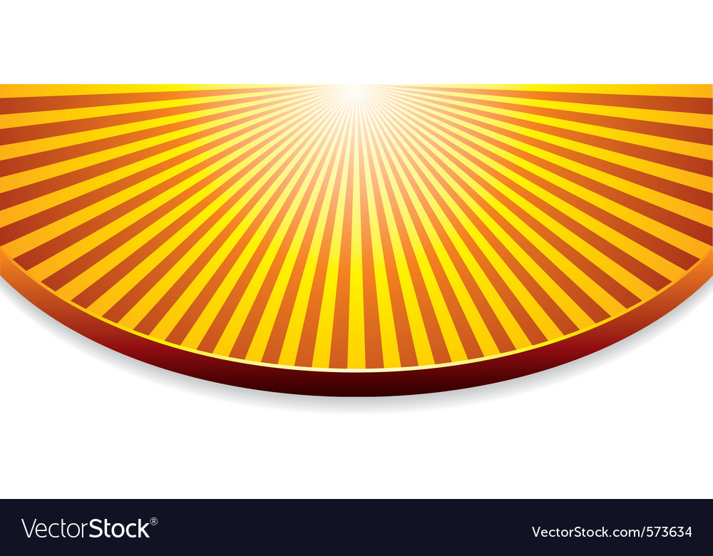 Free orange background with sunrise vector