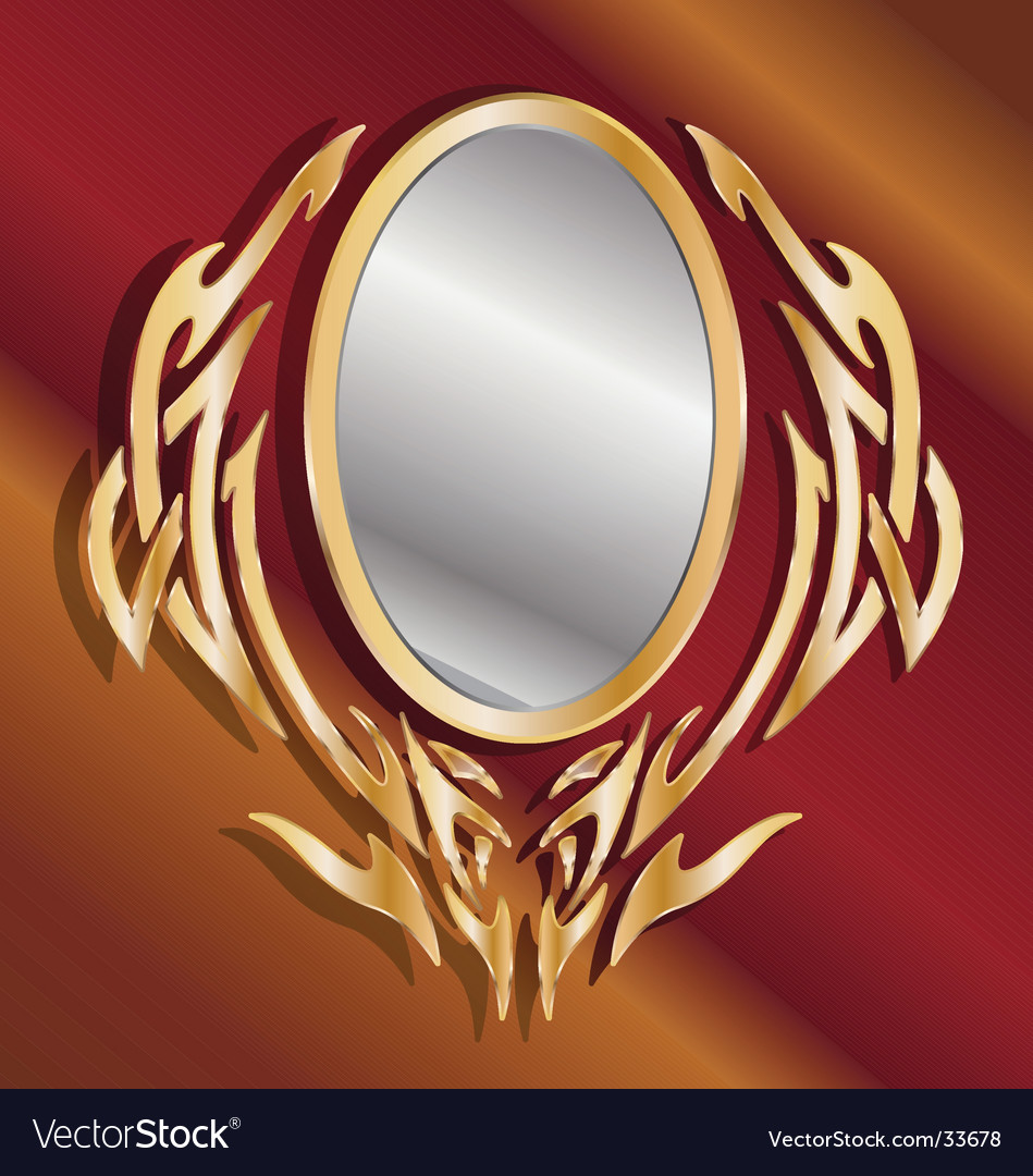 Magic mirror vector