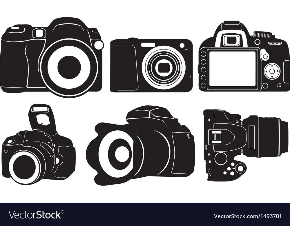 Foto cameras vector