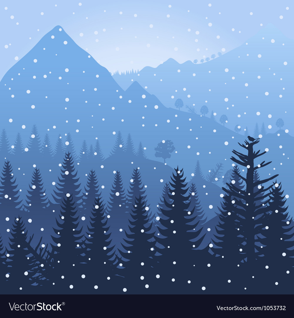 Mountain3 vector