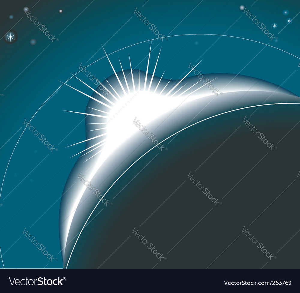 Sunrise background illustration vector