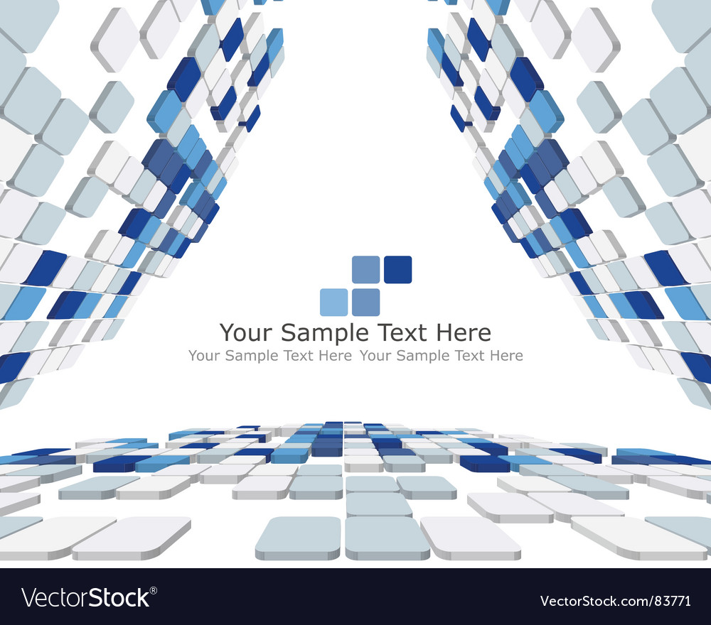 Free 3d checked background vector