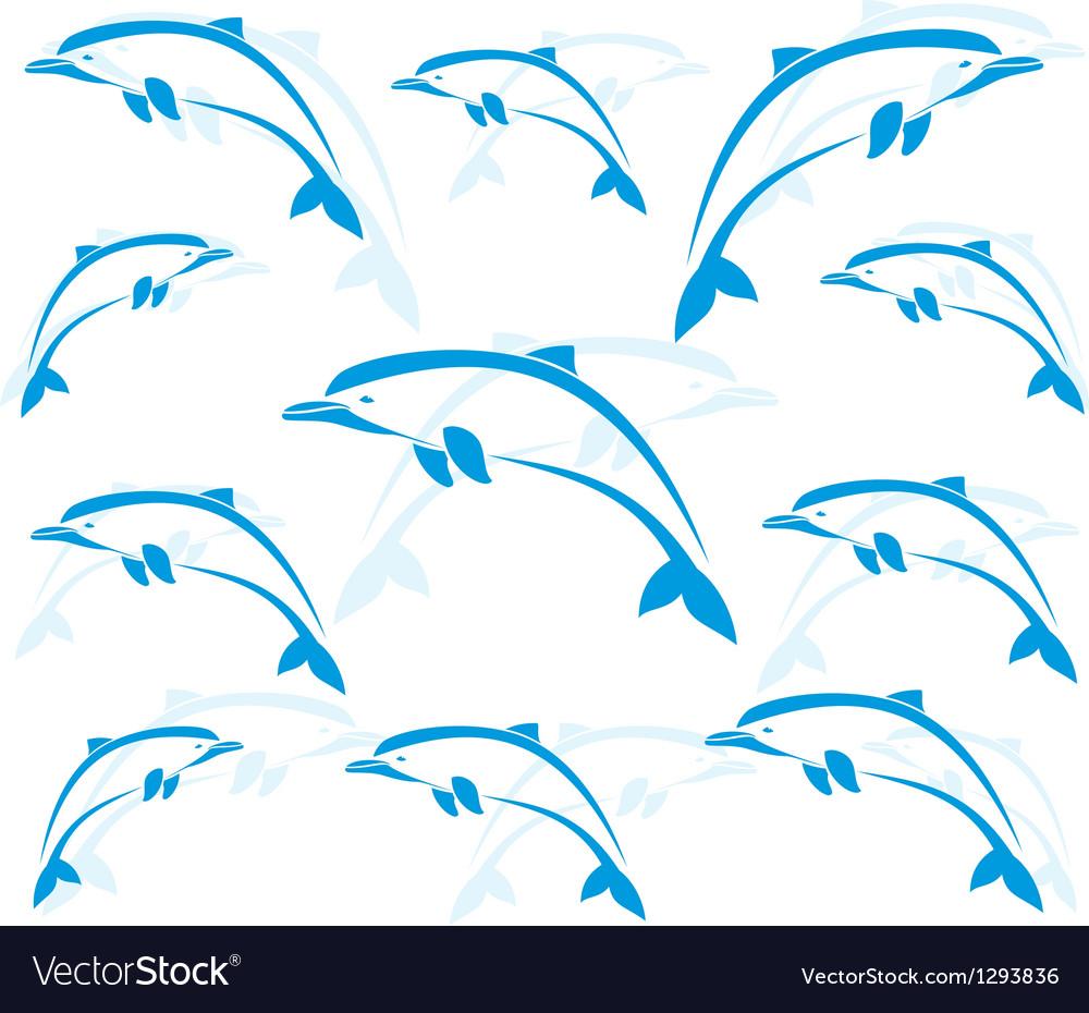 Dolphin 2 vector