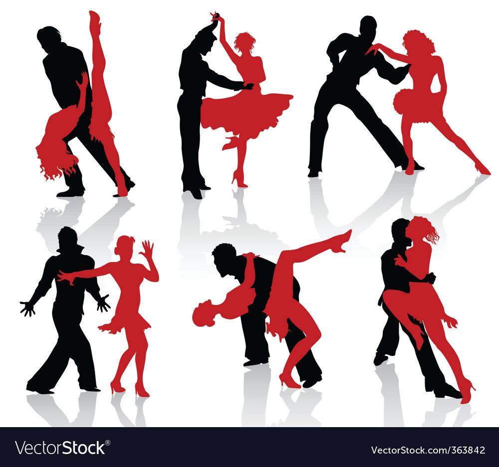 Ballroom dance vector