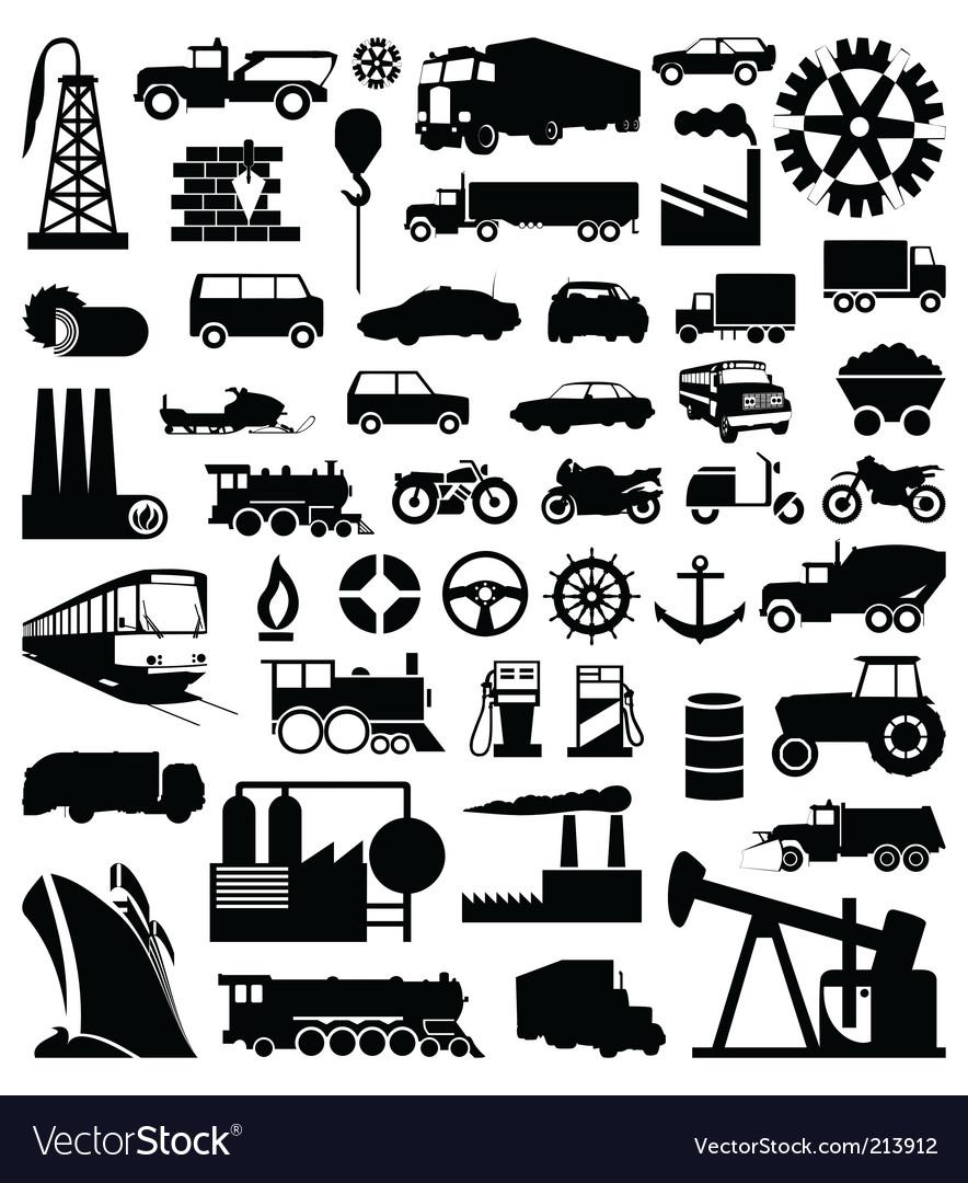 Industry vector