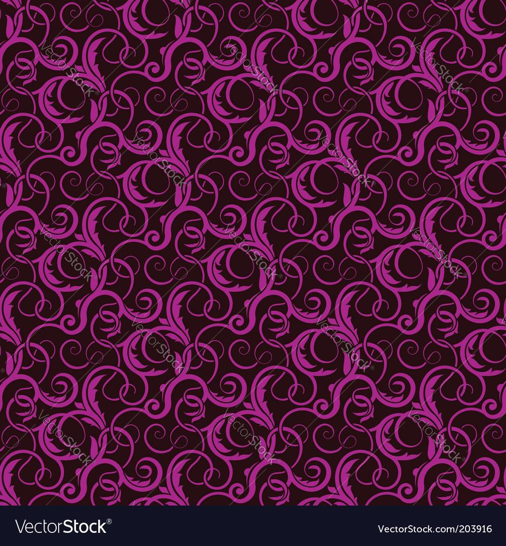 Violet seamless wallpaper pattern vector
