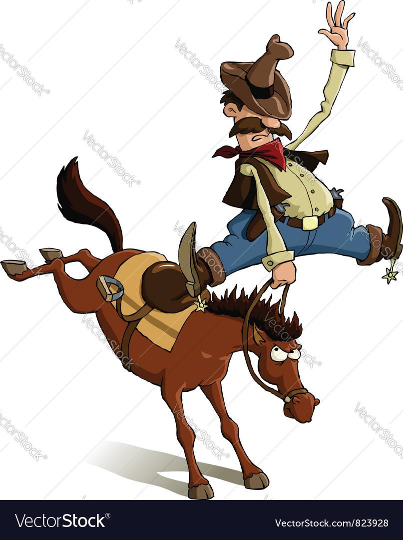 Cowboy loser vector
