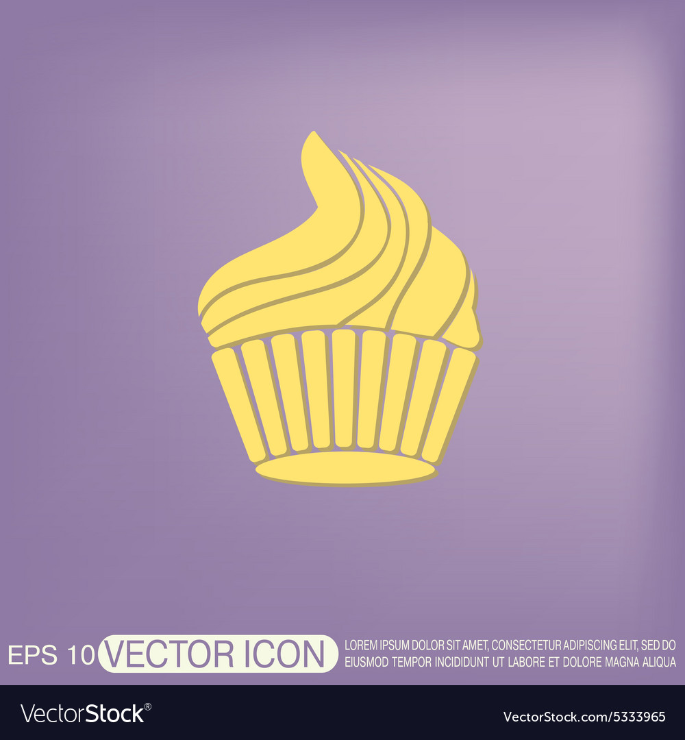 Birthday cake icon vector by Little_cuckoo - Image #5333965 ...
