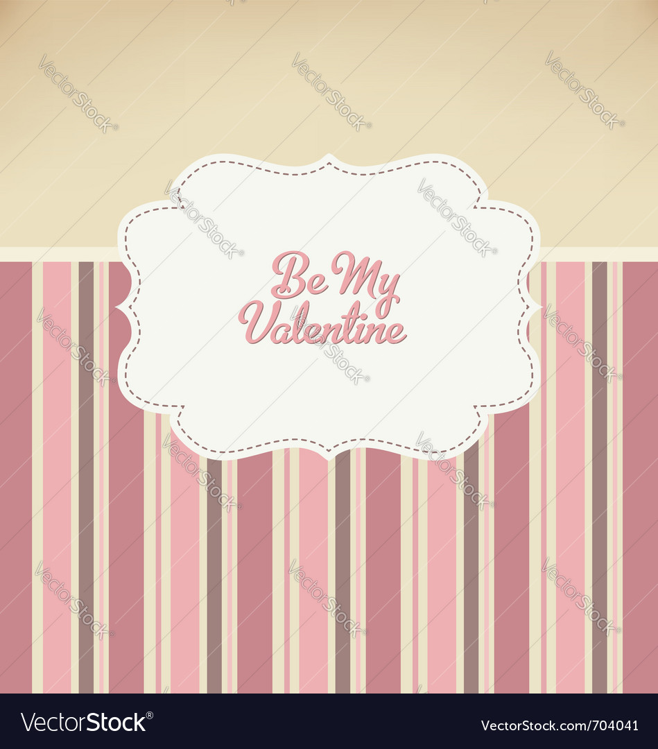 Valentine design vector