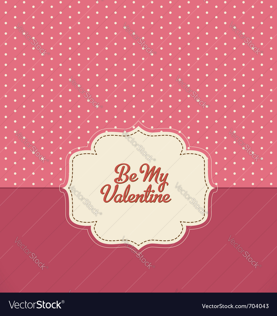 Valentines design vector