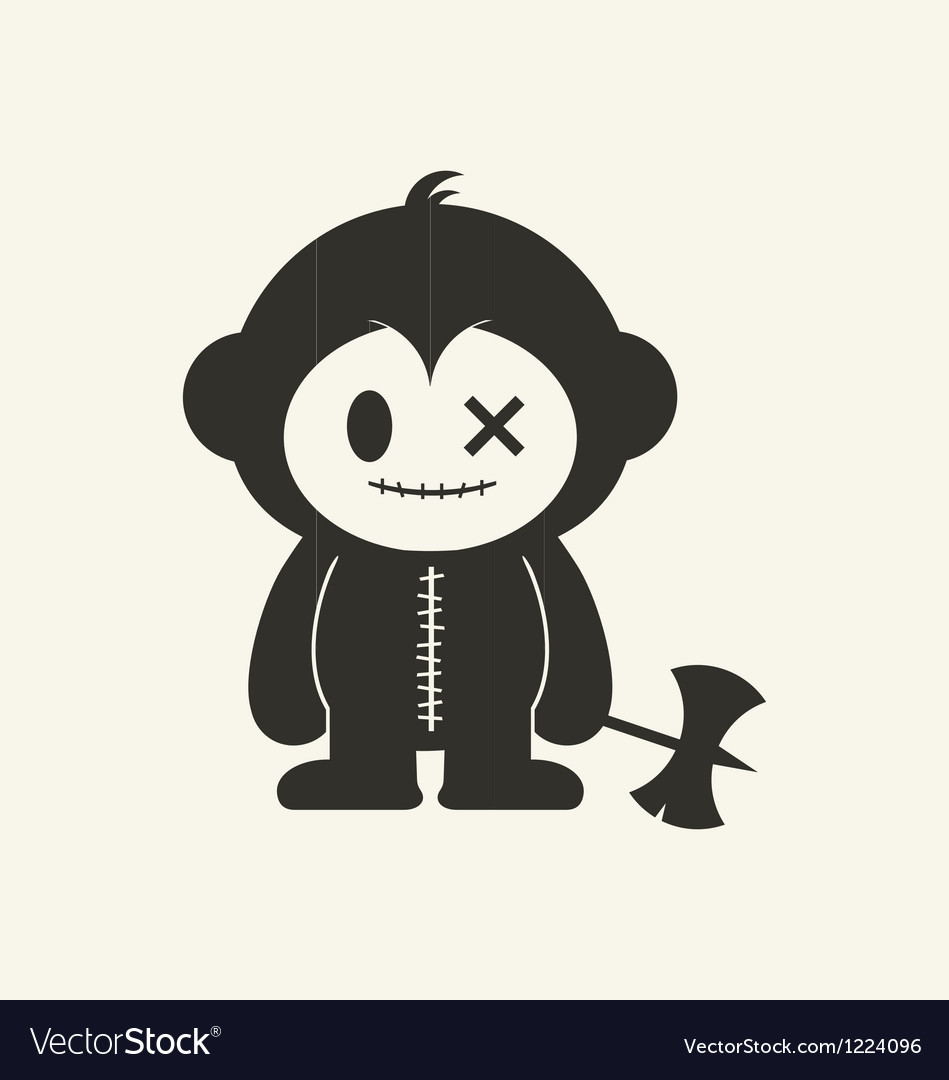 Monkeystein 2 vector