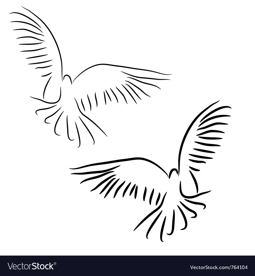 Peace dove concept vector