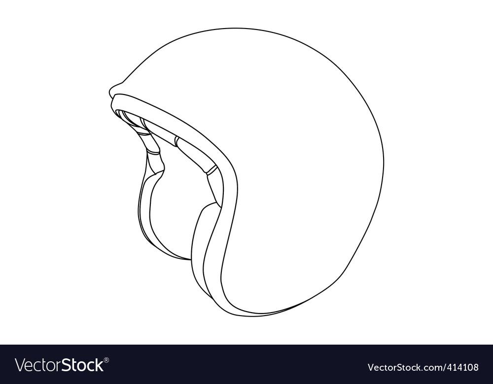 Sports helmet vector art - Download Helmet vectors - 414108