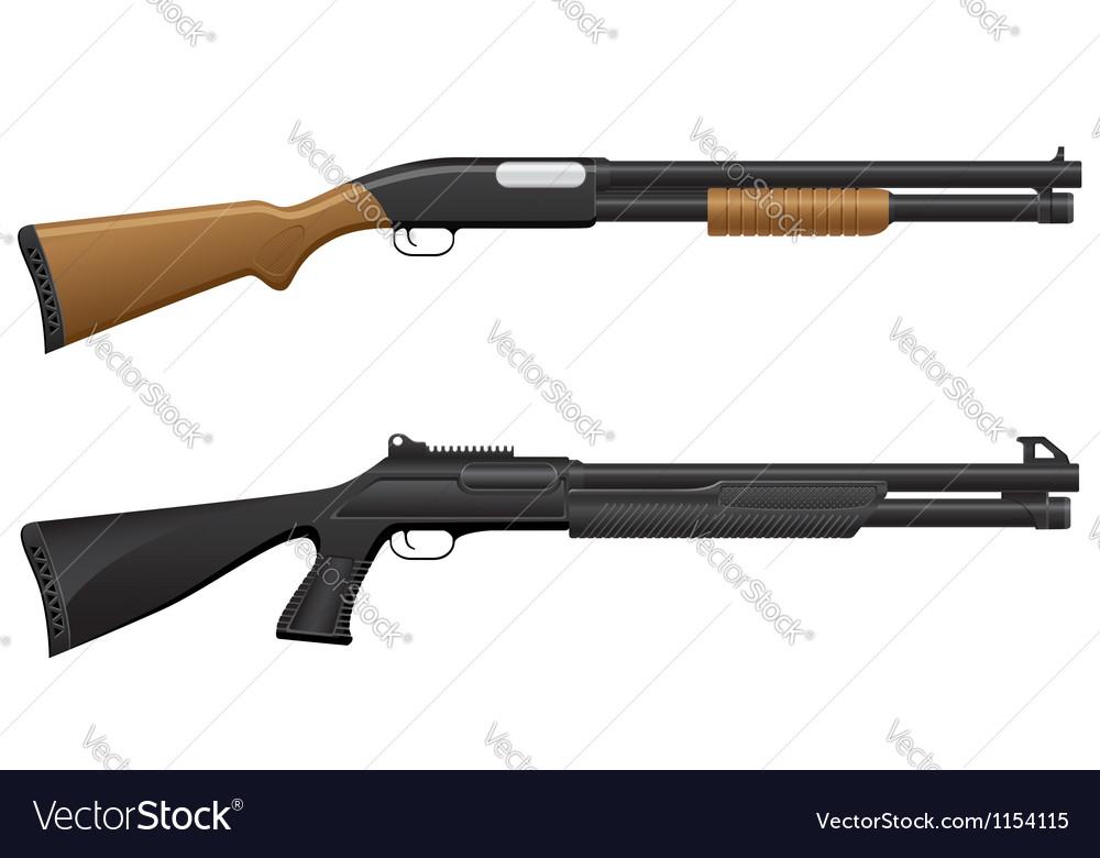 Shotgun 06 vector