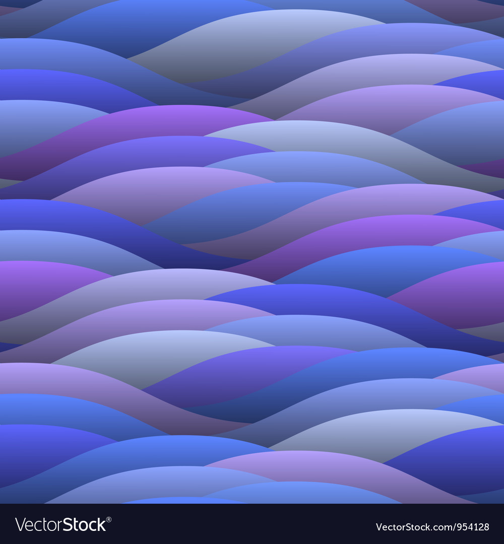 Blue abstract waves vector