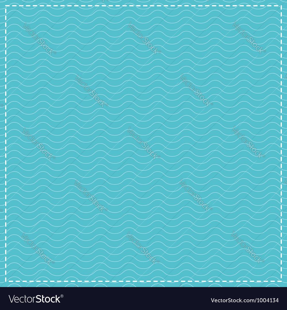 Water waves pattern vector