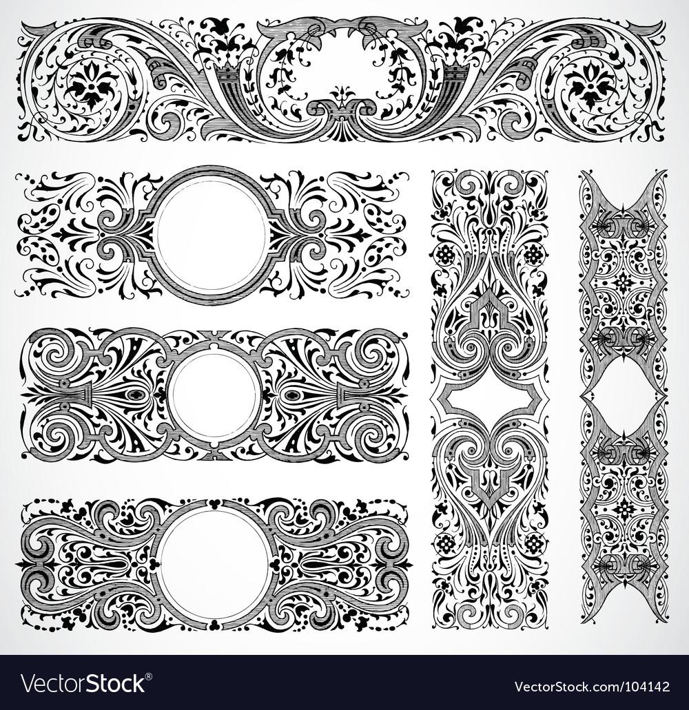Print design traced vector