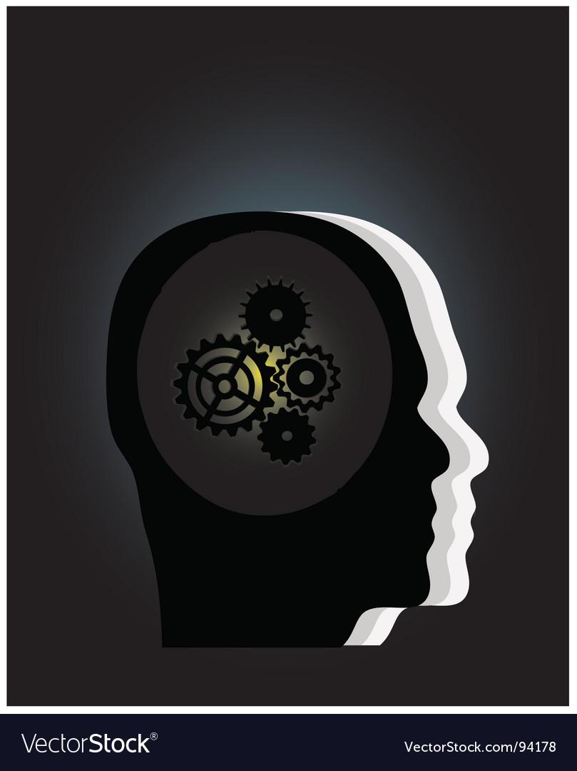 Gear symbol vector