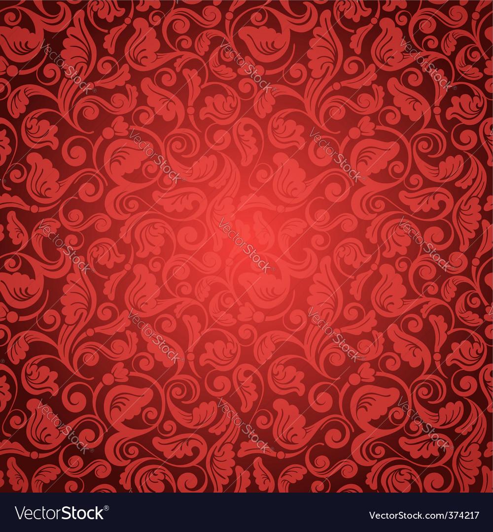 Antique wallpaper vector