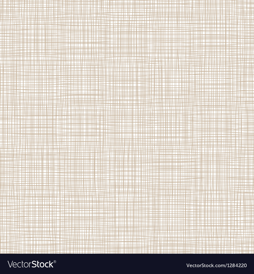 Background with threads natural linen vector
