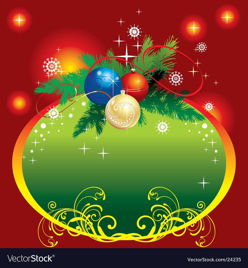 Background for christmas vector
