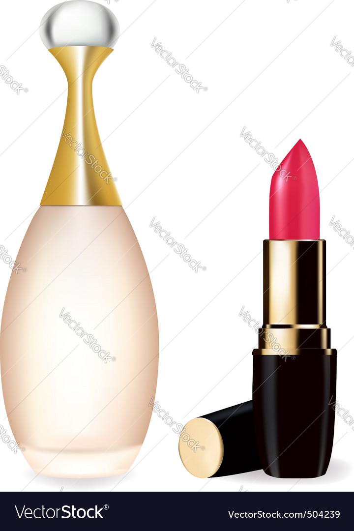 Lipstick partum vector